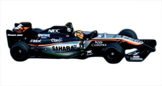Dişleri, F1 aracında kullanılacak kadar sert