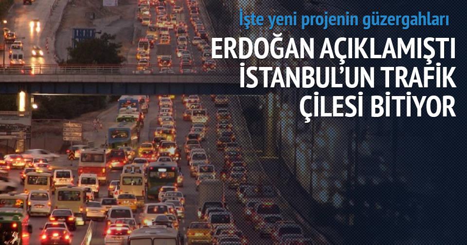 İstanbul'un trafik çilesi bitiyor