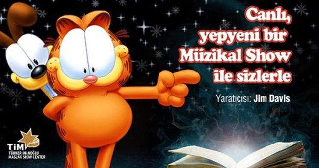 Garfield Live bu yıl da sahnede