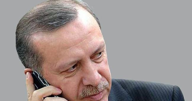 Yazıcıoğlu ailesine telefon