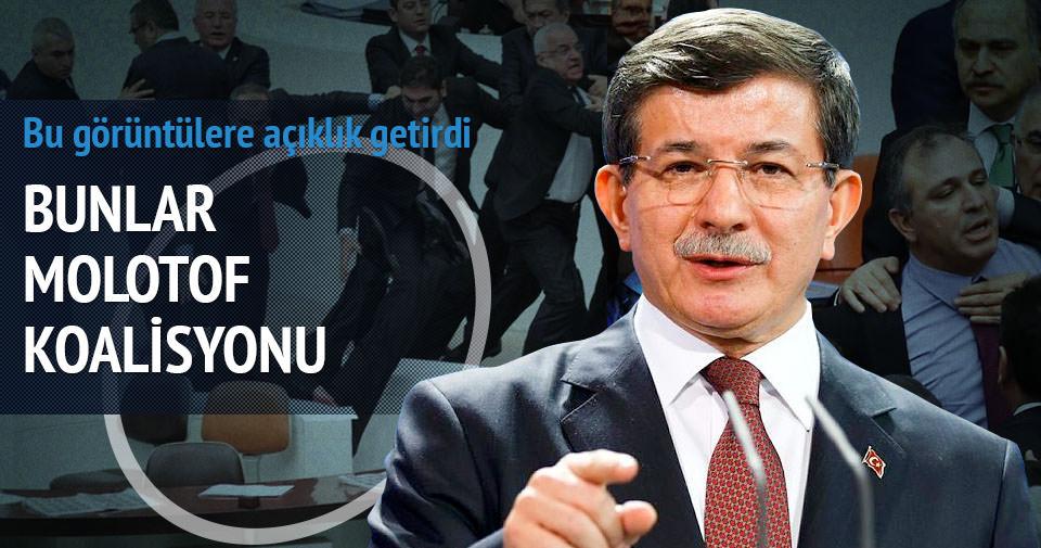 Davutoğlu: Bunlar molotofçu koalisyonu