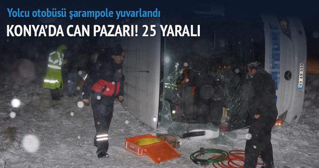 Konya'da can pazarı! 25 yaralı