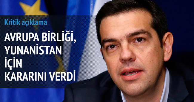 AB ile Yunanistan anlaştı