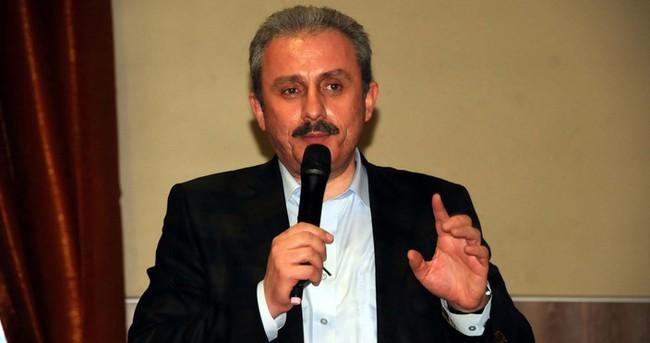 Şentop: Bu parti çakma CHP