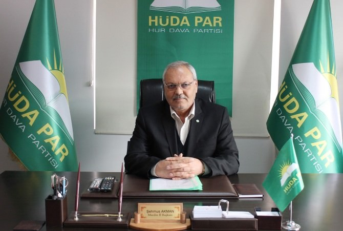 HÜDA-PAR Mardin Teşkilatında Kongre Hazırlığı