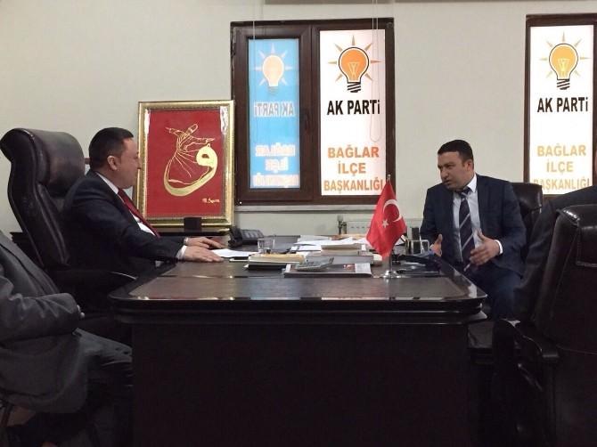 Yontürk AK Parti İlçe Başkanlıklarını Ziyaret Etti