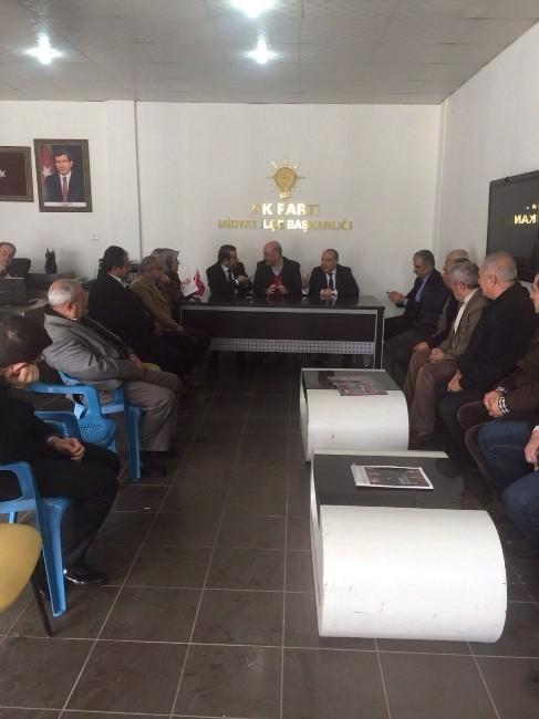 AK Parti Mardin Milletvekili Aday Adayı Nihat Özkan Çalışmalarına Başladı