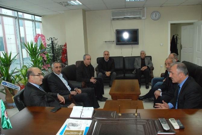 Vali Mahmut Demirtaş'tan Ziraat Odası'na Ziyaret