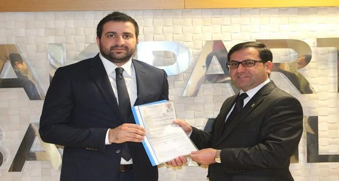 AK Partili Yılmaz Salık, Resmi Başvurusunu Yaptı