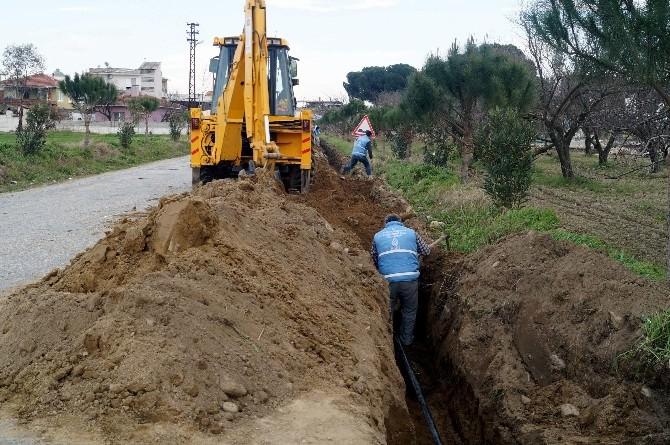 İncirliova'nın Sandıklı Mahallesi'ne İçme Suyu Takviyesi