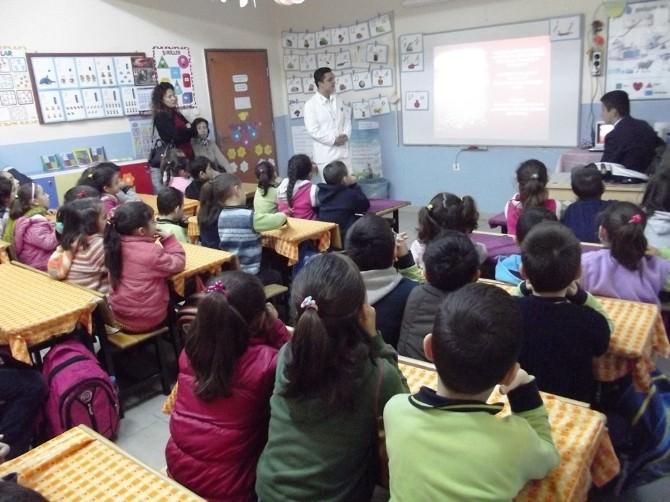 Liseli Denizcilerden Miniklere Çevre Eğitimi