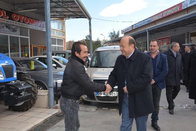 Başkan Özakcan'a Aymas'da Samimi Karşılama