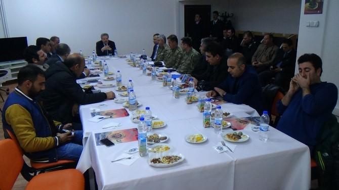 Erzincan 2014 Yılı Asayiş Ve Güvenlik Olayları Bilgilendirme Toplantısı