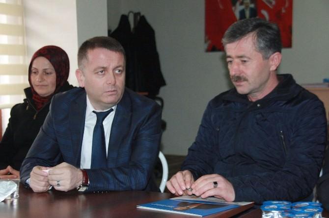 AK Pafrti Düzce Milletvekili Aday Adayı Esvet Sarıoğlu;