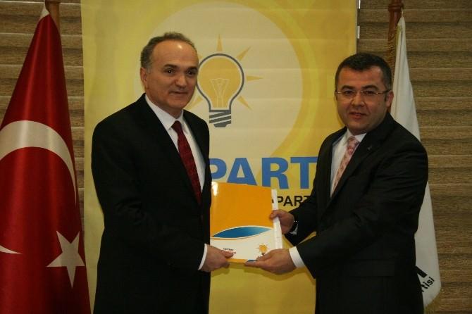 Faruk Özlü AK Parti'den Aday Adayı Oldu