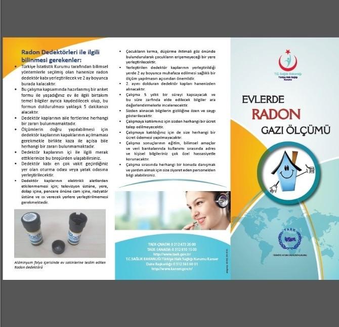 Gaziantep'te 'Radon' Açıklaması