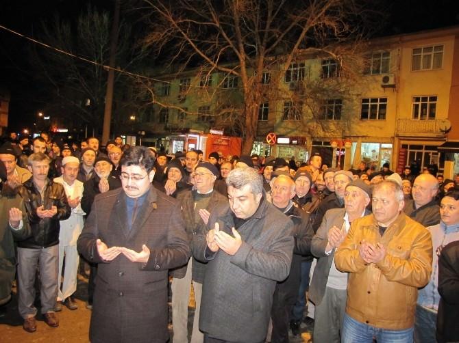 Hisarcık'ta Umre Kafilesi Uğurlandı