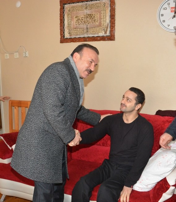Başkan Doğan'dan Geçmiş Olsun Ziyareti