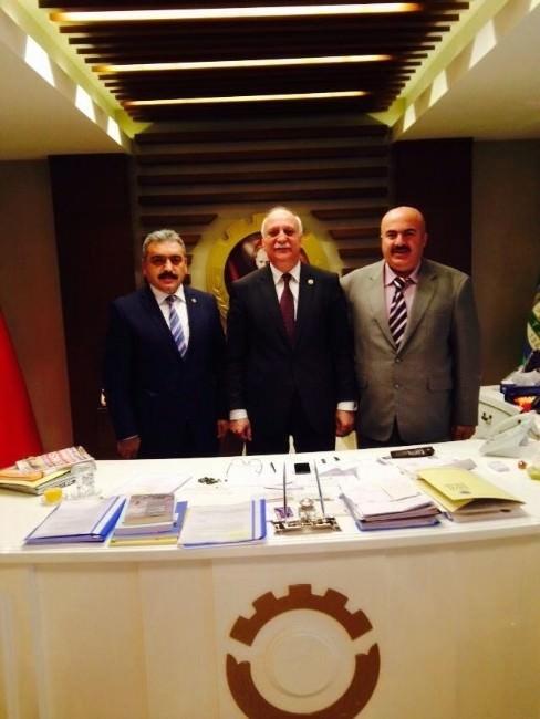 Karaman Ziraat Odası, TZOB Seçiminde Bayraktar'a Destek Verecek