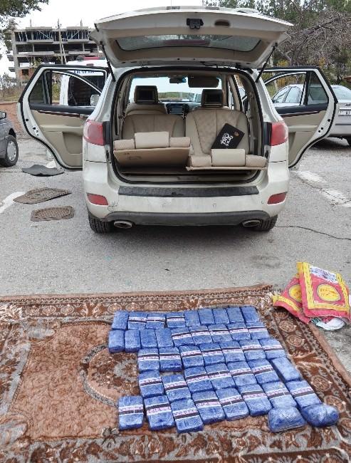 İran Plakalı Araçta 23 Kilo Eroin Ele Geçirildi