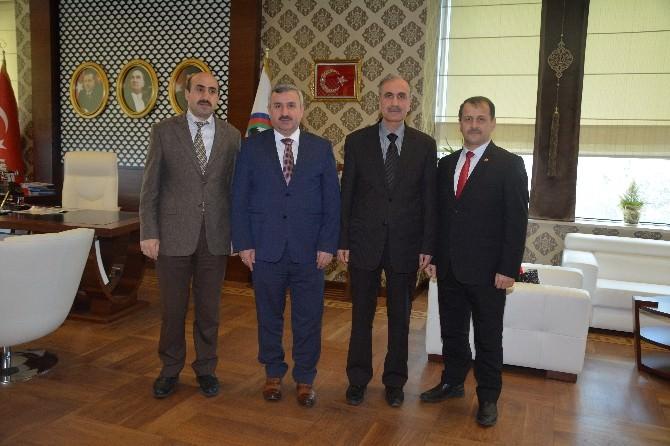 Müftü Erdoğan Başkan Baran'ı Ziyaret Etti