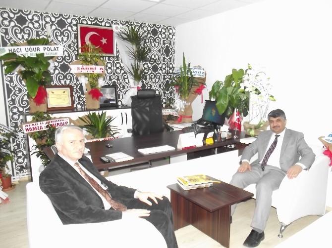 Sabri Akın'dan, BİK'e Ziyaret