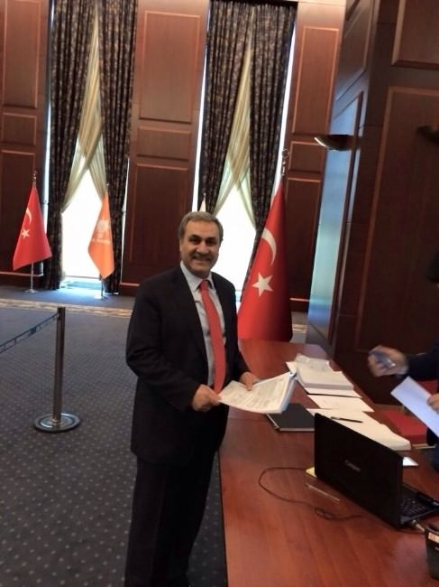 Elgörmüş, AK Parti Milletvekili Aday Adaylığı Resmi Başvurusunu Yaptı