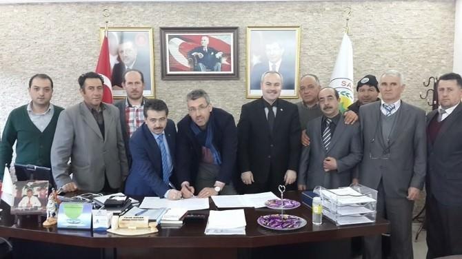Sarıcakaya Belediyesi'nde Sosyal Denge Sözleşmesi İmzalandı