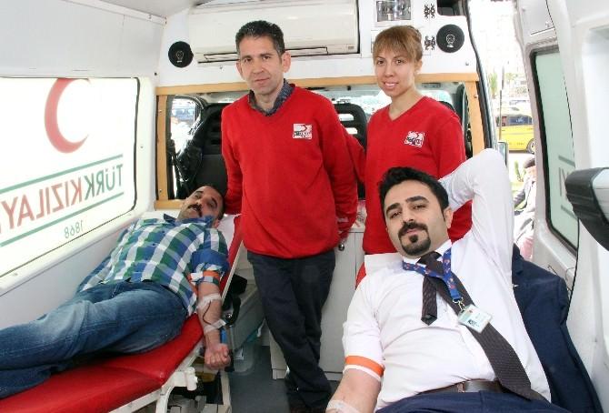 Medline'dan Kızılay'a Kan Bağışı
