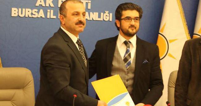 Yaşar Nuri'nin oğlu, AK Parti'den aday adayı