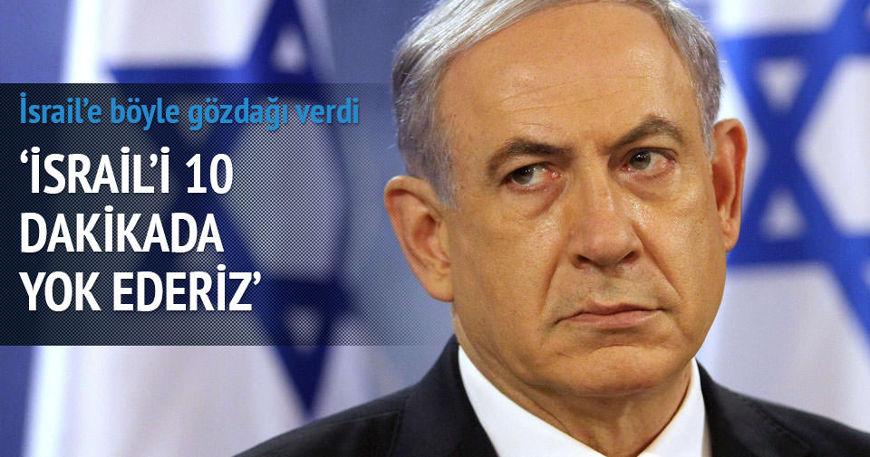 İran'dan İsrail'e: 10 dakikada Tel Aviv'i yok ederiz