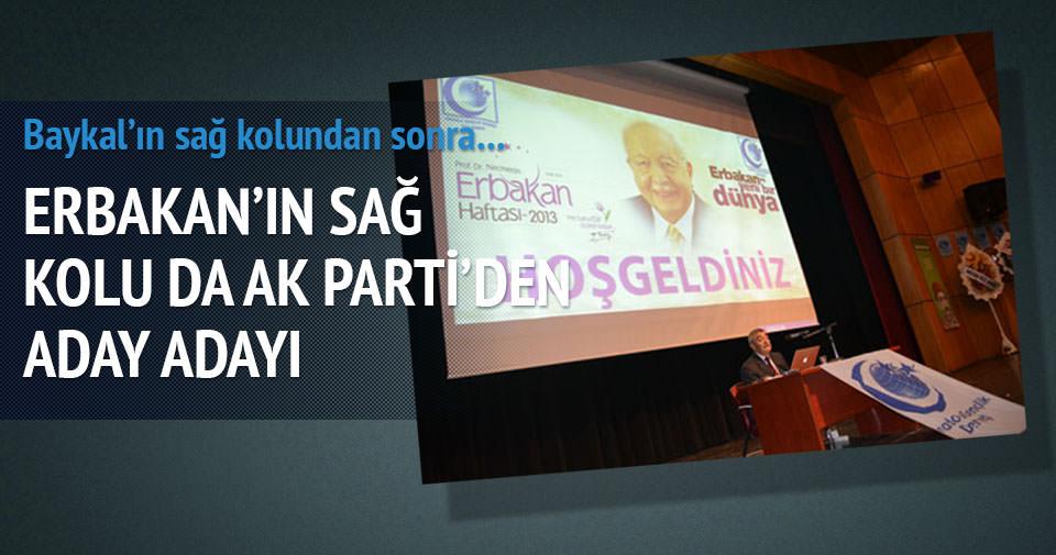 Erbakan'ın sağ kolu da AK Parti'den aday adayı