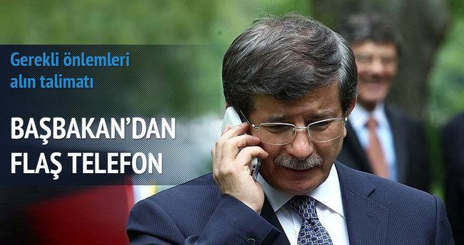 Davutoğlu'ndan Çakıroğlu ailesine taziye telefonu