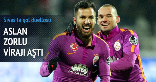 Galatasaray zorlu virajı aştı