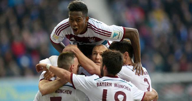 Bayern gol yağdırdı