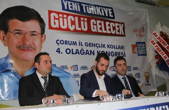 AK Parti Çorum Gençlik Kolları'nda Yıldırım Dönemi