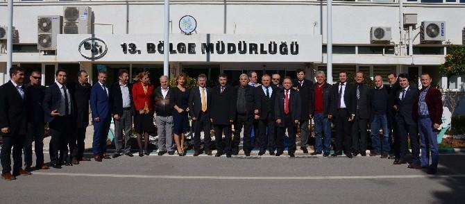 Antalya Karadenizliler Derneği'nden DSİ'ye Ziyaret