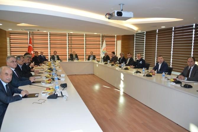 Organize Sanayi Bölgesi Toplantısı, Vali Türker Başkanlığında Yapıldı