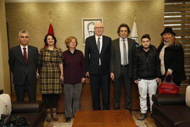 Sosyal Demokrasi Derneği'nden Başkan Kurt'a Ziyaret