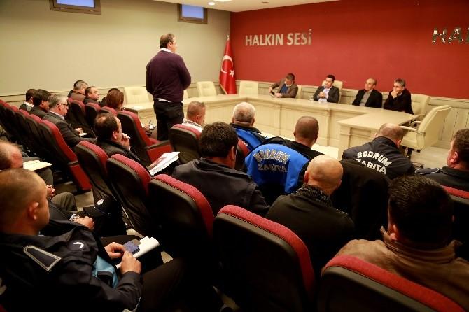 Bodrum Belediyesinde Sezon Öncesi İstişare Toplantısı