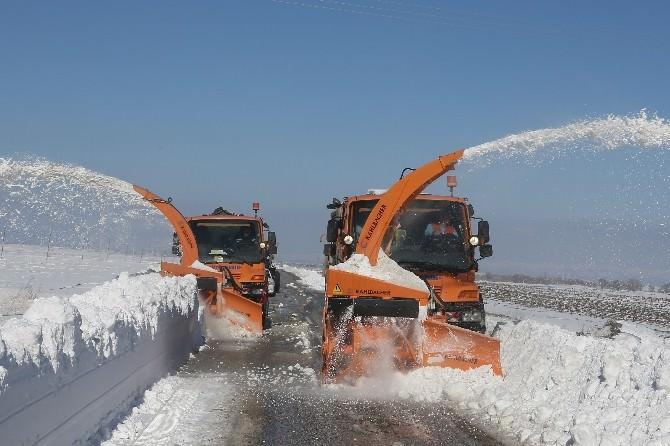 Eskişehir'de Kar Temizleme Çalışmaları