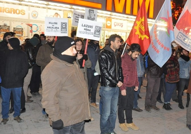 Eskişehir'de 'Anadil' Eylemi