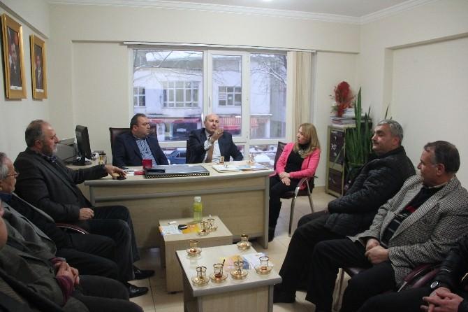Hasan Türkyılmaz, Cumayeri'nde Partililerle Bir Araya Geldi