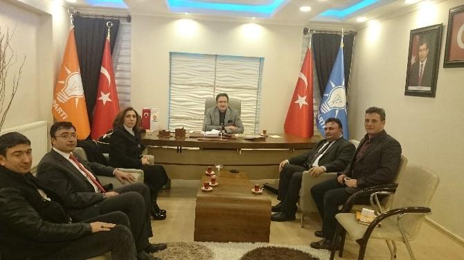 AK Parti Milletvekili Aday Adayı Serap Ağar, Yakutiye Ve Aziziye İlçe Teşkilatlarını Ziyaret Etti