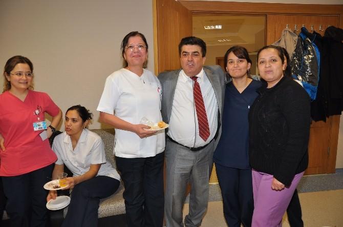 Nazilli'de 32 Yıllık Doktora Duygusal Veda