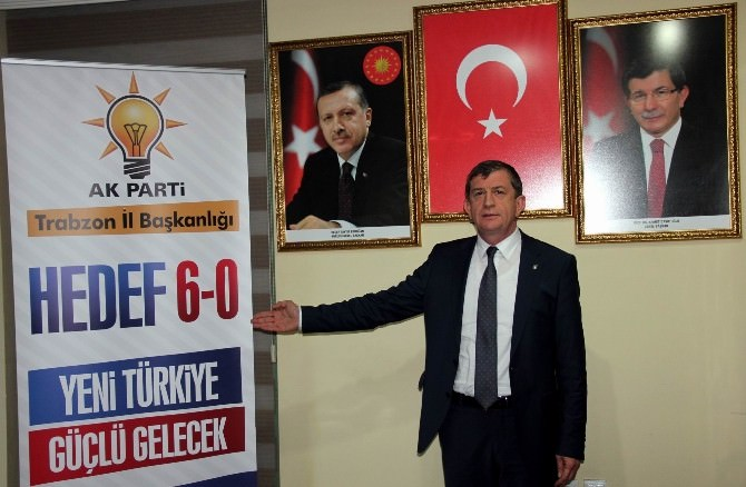 AK Parti Trabzon'da Rekor Sayıda Aday Adayı