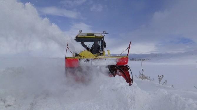 Kars'ta 17 Köy Yolu Ulaşıma Kapalı