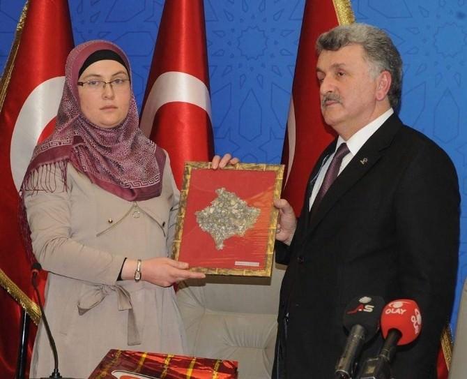 Kosovalı Milletvekili Murat Sevinç'e Destek İçin Geldi!