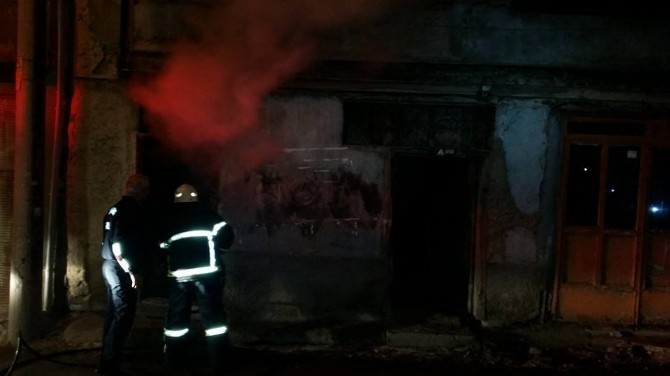 Kütahya'da Yangın