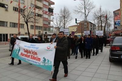 Malatya'da Sağlıklı Yaşam Yürüyüşü